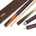 RILEY RLG-4P(5P) Snooker Cue Handmade 3/4 Piece Snooker Kit with RILEY Case with Professional Extension 10mm Tip Billiard Cue