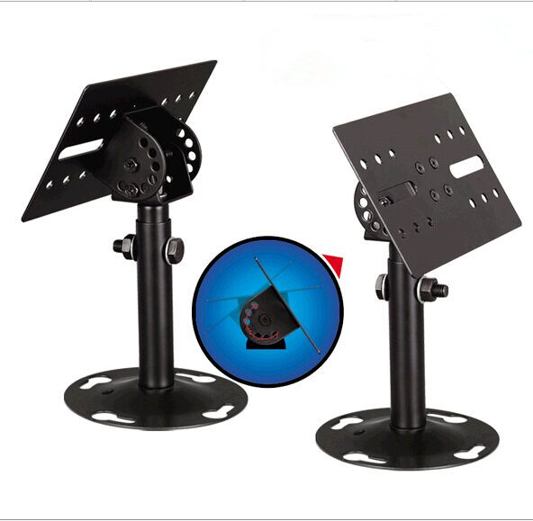 1Pair Professional Tilting Speaker Bracket Ceiling Mount Speaker Hanger Wall Mount Holder Speaker Stand