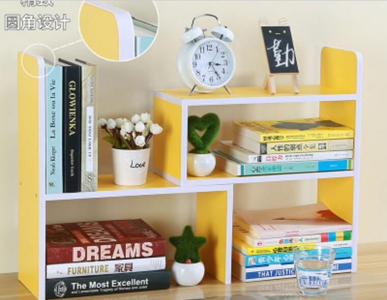 Güvenlik yuvarlak köşe tasarım DIY Ofis kitaplık Masası - Mobilya - Fotoğraf 4