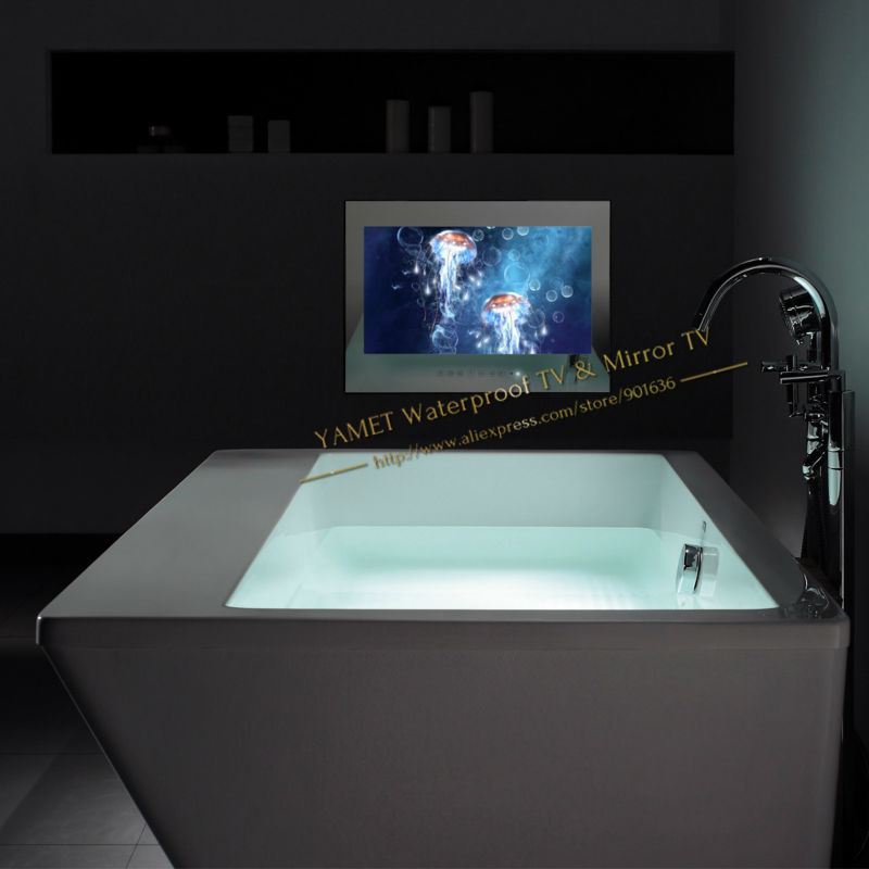 Aliexpress Buy IP66 32 Inch Mirror Bathroom TV Waterproof LED Free Shipping From Reliable Tv Suppliers On Yamet International Co Ltd