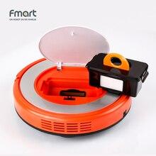 Inteligentny Robot Vacuum Cleaner Fmart YZ-Q2 Urządzenia Do Czyszczenia 128 ML Zbiornik Wody Na Mokro 300 ML Śmietnik Sweeper Aspirator 3 w 1 Odkurzacze