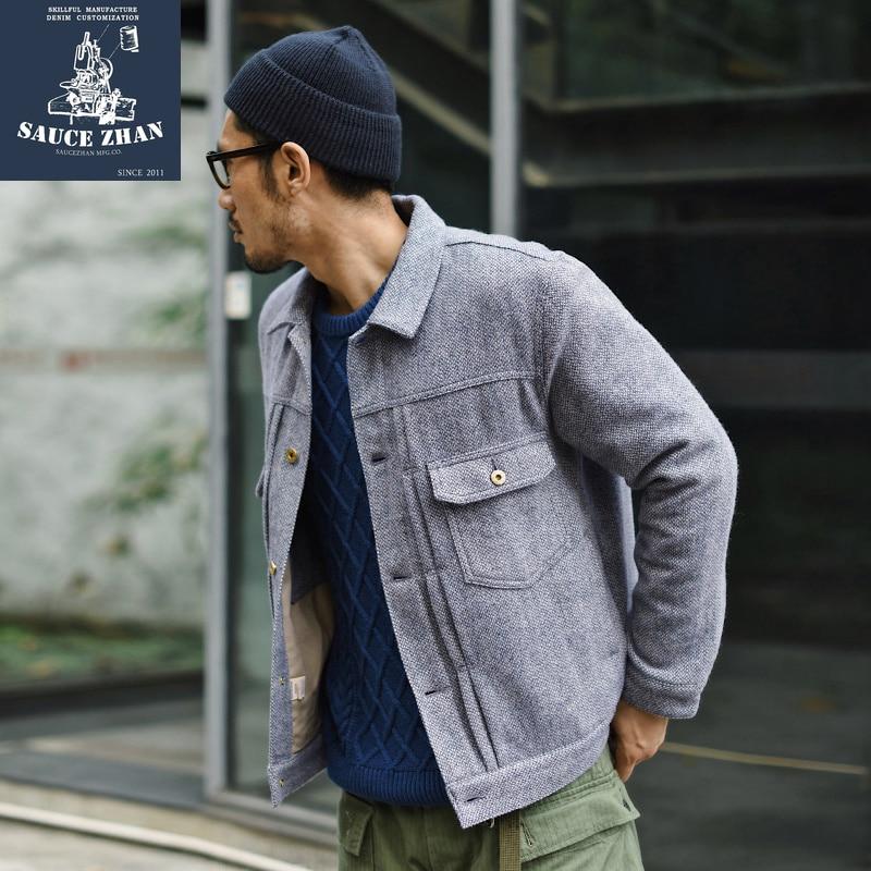 Factory 2018 New Men Retro Vintage Leather Biker Jacket Embroidery Skull Pattern Black Slim Fit Men