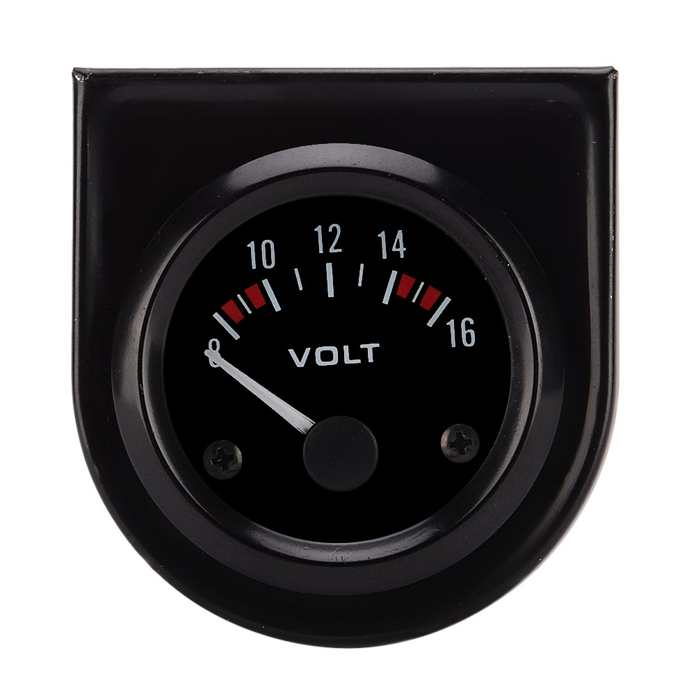 1 Pc Universal 12v 2 52mm Volt Voltage Meter Gauge Voltmeter Car Sunpro Tach Wiring Diagram 4 10 From 83 Votes The Wire Length 115cm 45 Quantity Function Used To Measure Of Automobile Power Features