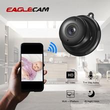 Completo hd 1080 p mini sem fio wifi menor câmera ip visão noturna infravermelha p2p mini cam filmadoras kits dome cctv de segurança em casa