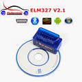 2016 Top Selling Super MiniI ELM327 Bluetooth OBD2 V2.1 Smart Car Diagnostic Interface ELM 327 Wireless Scan Tool
