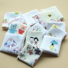 Специальное предложение, детское натуральный хлопок eco-friendly kidscartoon платок замечательный 10 платками подарочный набор рождественский подарок для мальчиков и девочек
