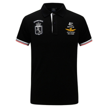 New 2018 Air Force one Top Quality Embroidery Men's Aeronautica Militare Polo shirt Hombre Manga Corta Fashion men clothing(China)