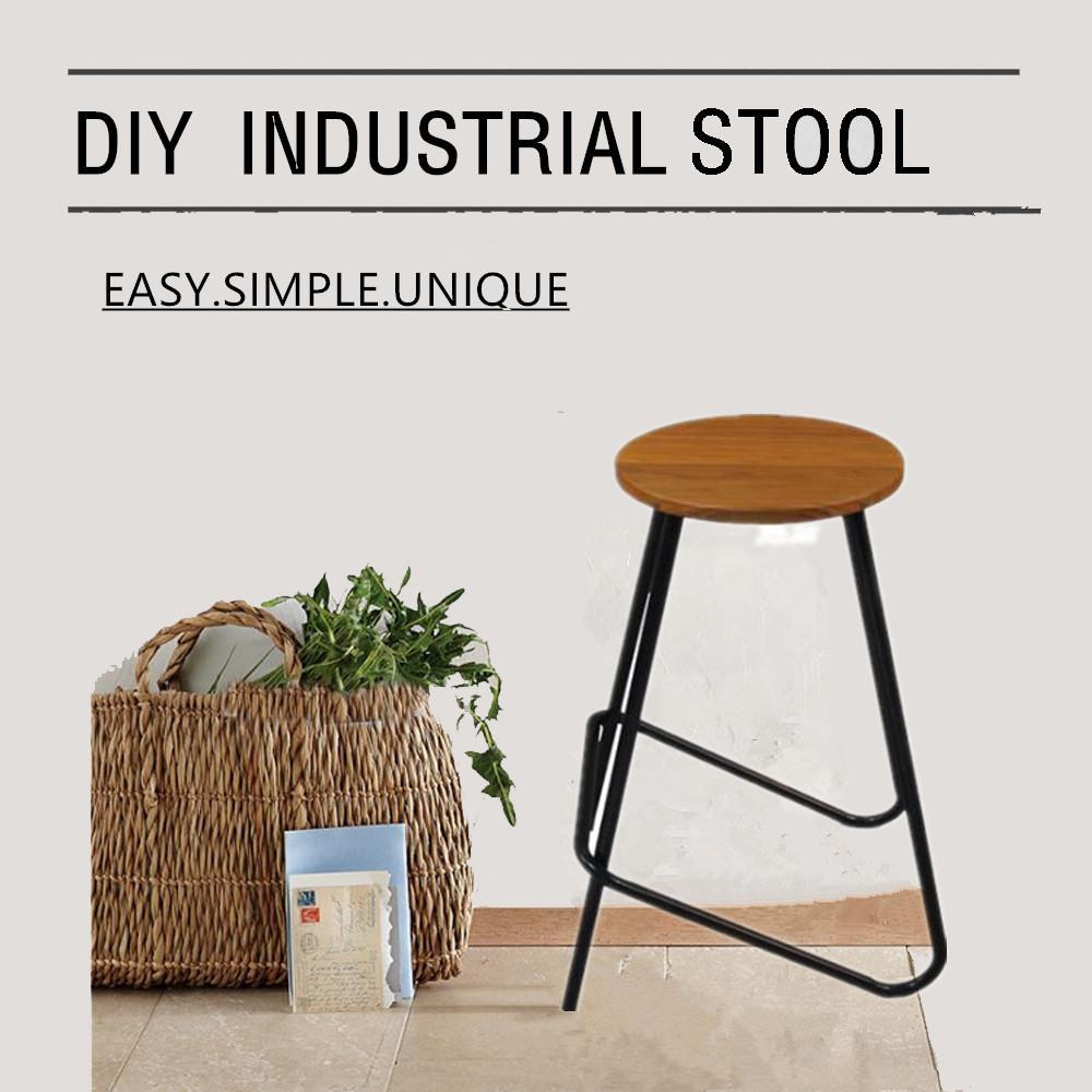 Vintage industrielle tabourets de bar de style américain meubles tabourets moderne comptoir de bar stoolwith tabourets