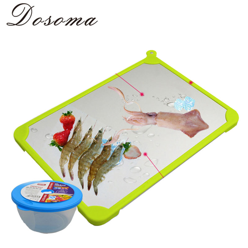 Lightning Thaw Board Kitchen Supplies Creative Fast Frozen Food Thawing Plate Meat Thawing Plate Household Items