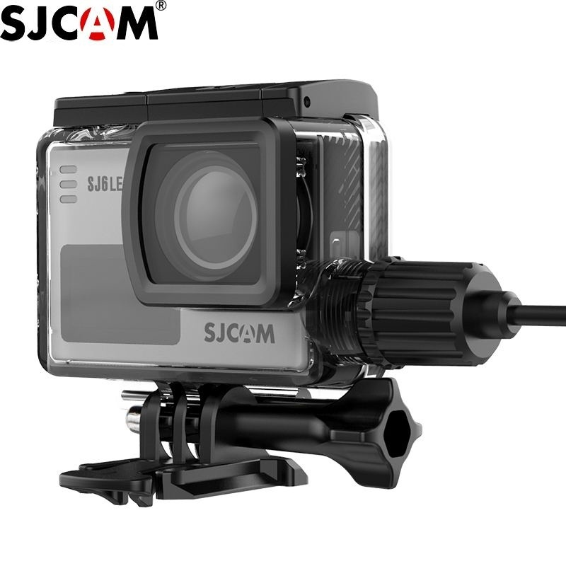New Original SJCAM Motorcycle Waterproof Case For SJCAM SJ6 Charging Housing Action Camera For SJ6 Legend Charger Case Clownfish
