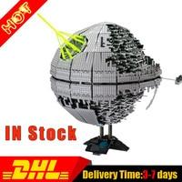 Modular LEPIN 05026 3449Pcs UCS UCS Death Star 2 II Model Building Kit Set Blocks Brick Compatible Toys 10143