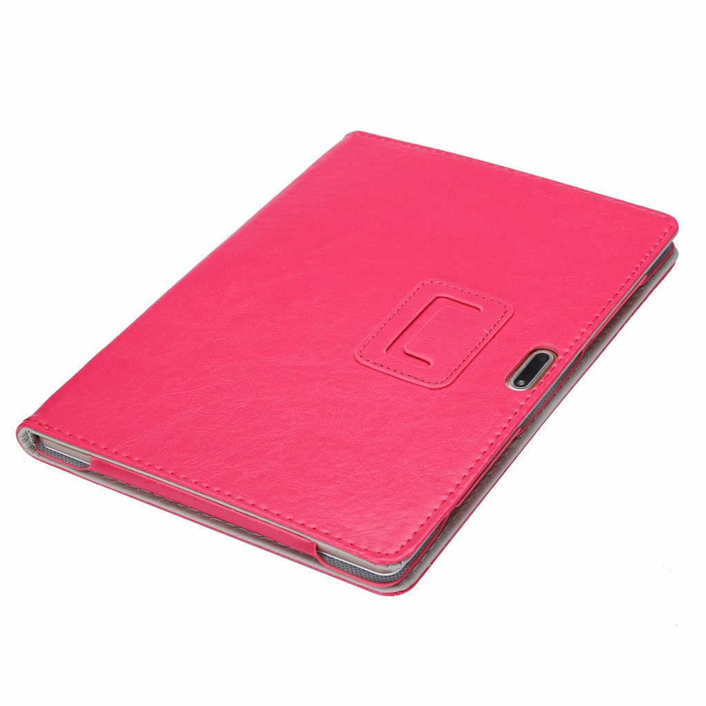 Universal folio couro suporte capa para 10 10.1 Polegada android tablet pc anti-dirts anti-impressões digitais suporte função moda