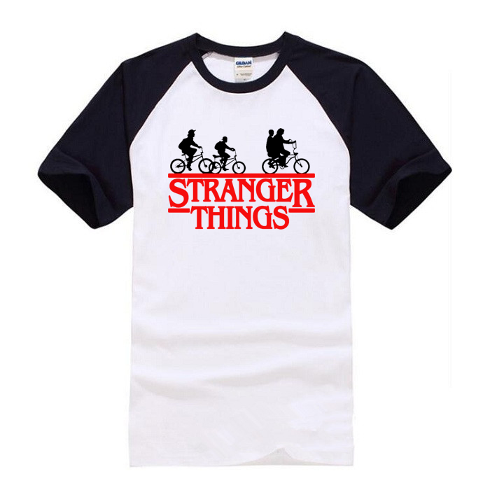New 2018 Stranger Things   t     shirt   Women/Men Short Sleeve Cotton   Shirt   Man Fashion Tops Tees Men's summer Hip-hop   T  -  shirt