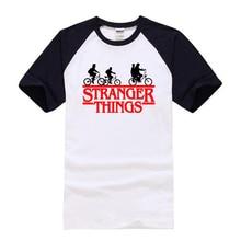 442ac2dae New 2018 Stranger Things t shirt Women/Men Short Sleeve Cotton Shirt Man  Fashion Tops