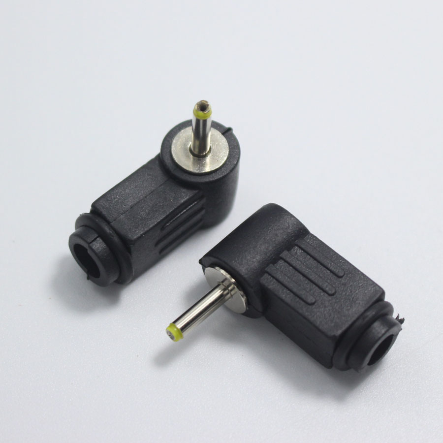 25x07 Mm Dc Power Plug 2507 L Shaped Male 90 Right Angle Wiring Single Head Jack Adapter Cord Connector In Connectors From Lights Lighting On