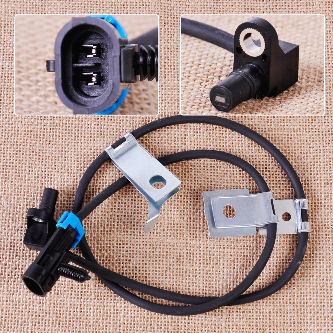 CITALL 15991986 Front Left or Right ABS Wheel Speed Sensor for Cadillac Escalade Chevrolet Chevy Express K1500 GMC C1500 Trucks