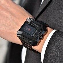 Benyar Luxury Brand Leather Watch
