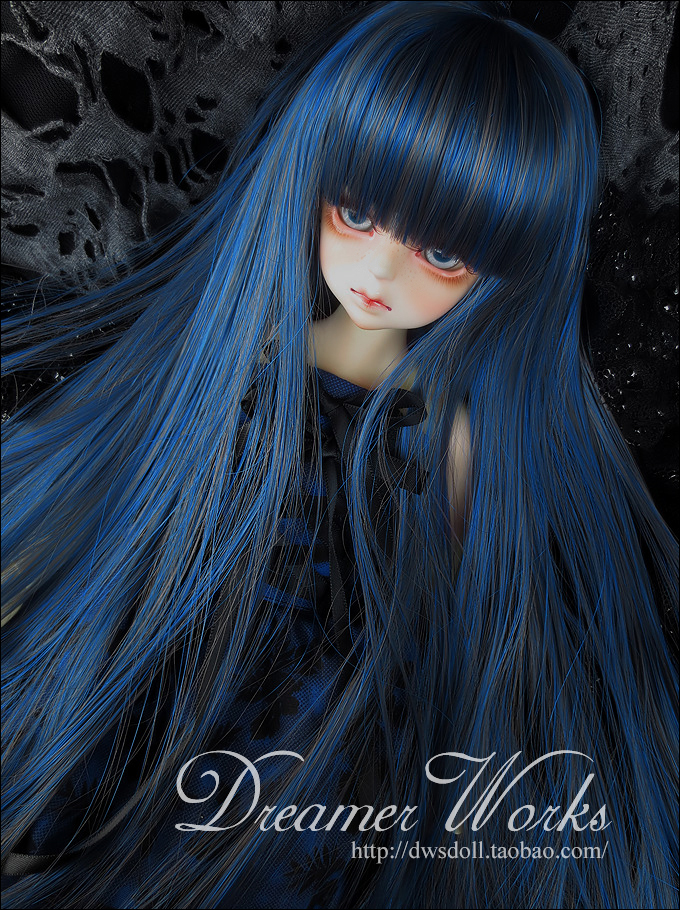 1/4 1/3 scale BJD  doll wig long hair for DIY BJD/SD accessory.Not included doll,clothes,shoes,and other accessories 17C3314 25cm 100cm doll wigs hair refires bjd hair black gold brown green straight wig thick hair for 1 3 1 4 bjd diy