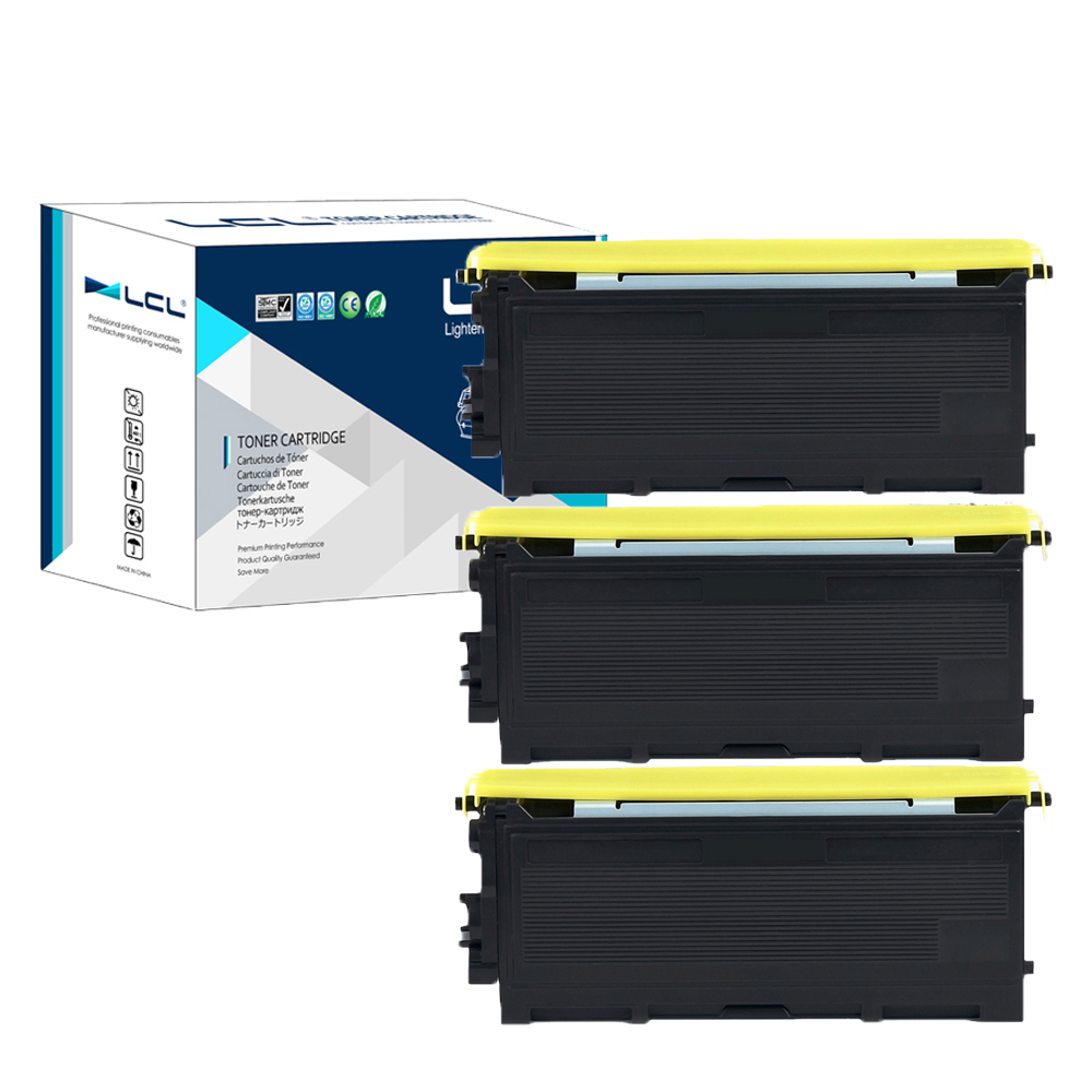 LCL TN2025 TN-2025 TN 2025 (3-Pack) Black Toner Cartridge Compatible for Brother HL-2040/2050/2037/2030/DCP-7025/7225N/2070/2080 1pcs compatible toner cartridge tn350 for brother hl 2030 2040 2070n 2035 mfc 7220 7225n 7420 7820n dcp 7010 7020 7025 printer