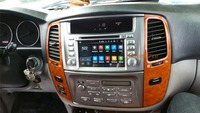 Quad Core Android Car DVD Player Audio MP3 DVD Player GPS System For Toyota Land Cruiser
