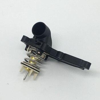 Mesin Pendingin Thermostat untuk VW Touareg Audi A8 Q7 Cayenne OE 06E121111AL/AD/P/S/D 06E 121 111AL/AD/P/S/D