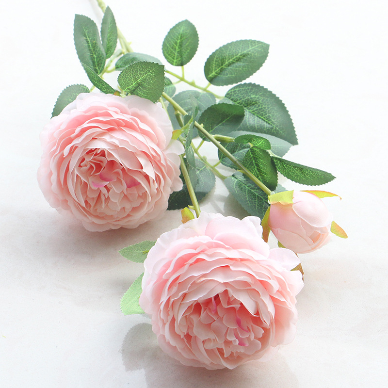 Other Mobility & Disability 3 Heads Latex Rose Small Buds Artificial Flowers Real Touch Rose Flowers Home Decorations For Wedding Party Or Birthday Always Buy Good