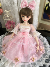 Full Set SuDoll BJD 1/3 Lovely little girl Free Eyes wig clothes all included  60cm Doll toys Toy quality