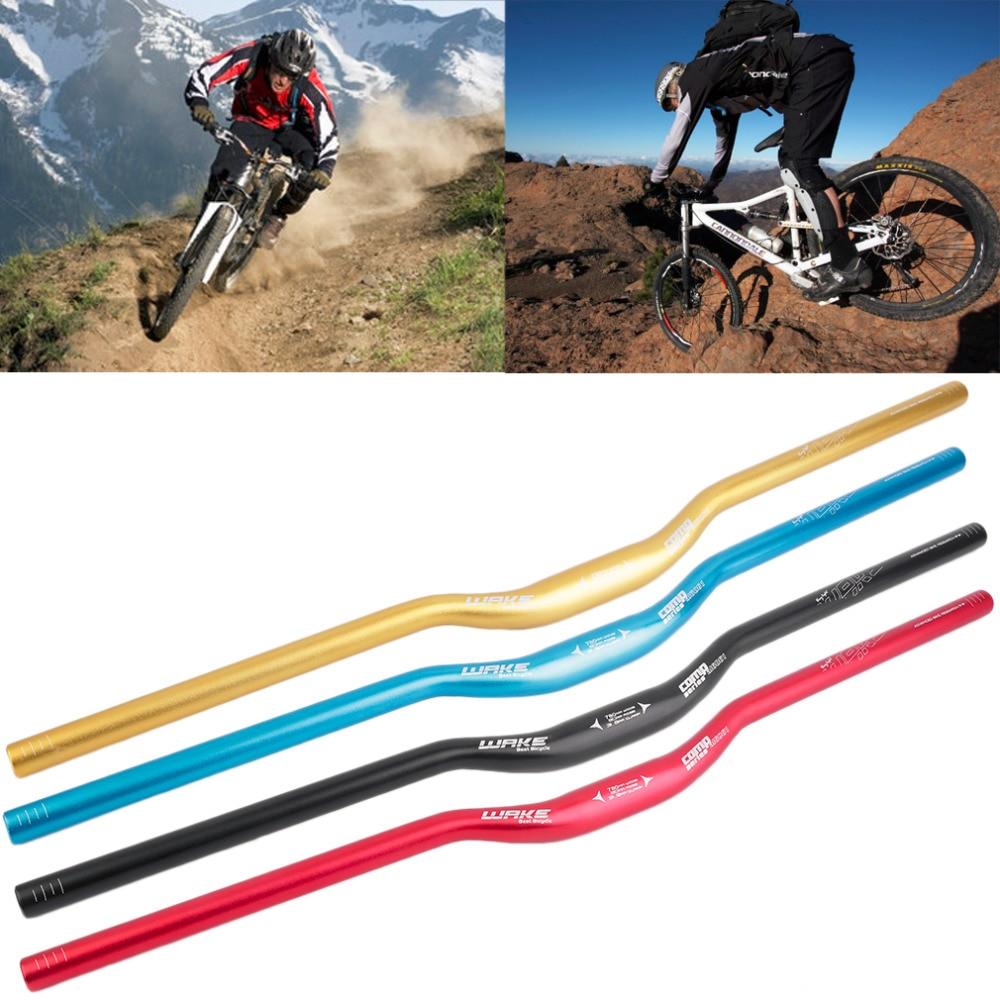 31.8mm Alloy Mountain Bicycle Handlebar Riser Bar Extra Long 620 720 780mm