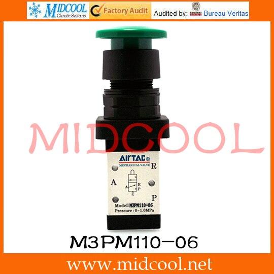 Original AirTAC Control valve(3/2way) M3 Series M3PM110-06 original airtac control valve m3 series