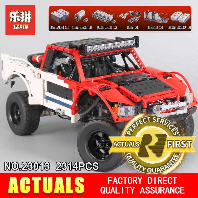 Lepin 23013 Genuino Technic Serie MOC SUV auto Pick-Up camion di mattoni modello corredi di costruzione di blocchi di giocattoli per i ragazzi regalo Di Natale