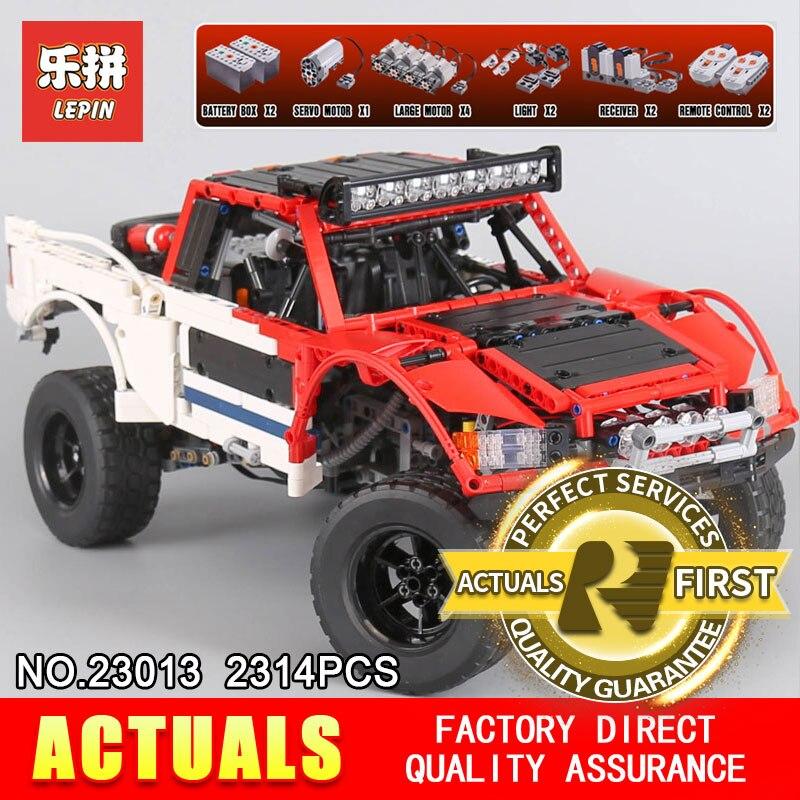 Lepin 23013 Véritable Technique MOC Série SUV de voiture pick-up briques modèle kits de construction blocs jouets pour garçons cadeau De Noël