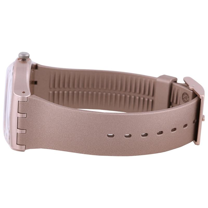 นาฬิกา Swatch สีเดิม series แฟชั่นควอตซ์นาฬิกา SUOP704-ใน นาฬิกาควอตซ์ จาก นาฬิกาข้อมือ บน   3