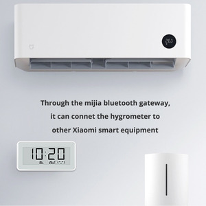 Image 3 - 100% Xiaomi Mijia BT4.0 Wireless Smart Electric Digital clock Indoor Hygrometer Thermometer E ink Temperature Measuring Tools
