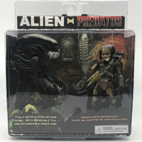 New Arrival Original Package SET 2 PACK AVP Alien VS. Predator NECA Exclusive Action Figure 2