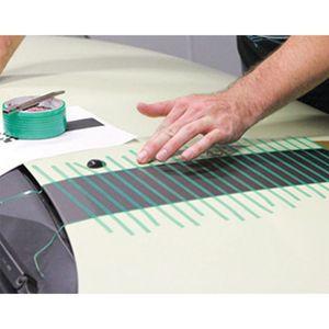 Image 3 - Film demballage en vinyle de voiture, 5M, ruban de coupe sans couteaux pour voiture, ligne Design, autocollants de voiture, outils de découpe, accessoires automobiles