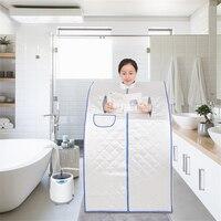 TW PS12NEW18J Steaming Box Steam Sauna Tent High quality Indoor Folding Sauna Box Sweating Fumigation Machine 110V/220V 1000W 2L