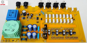 ZEROZONE (DIY kit) Hifi 256 Stepper Pure resistors Circuit Balance preamplifier kit L6-13