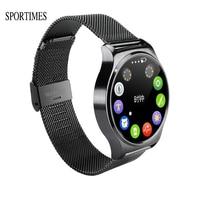 SPORTIMES GW01 Smart Uhr Anrufe Musik Camera Control Bluetooth 4,0 Pulsmesser Schrittzähler Touchscreen Für Android & iOS