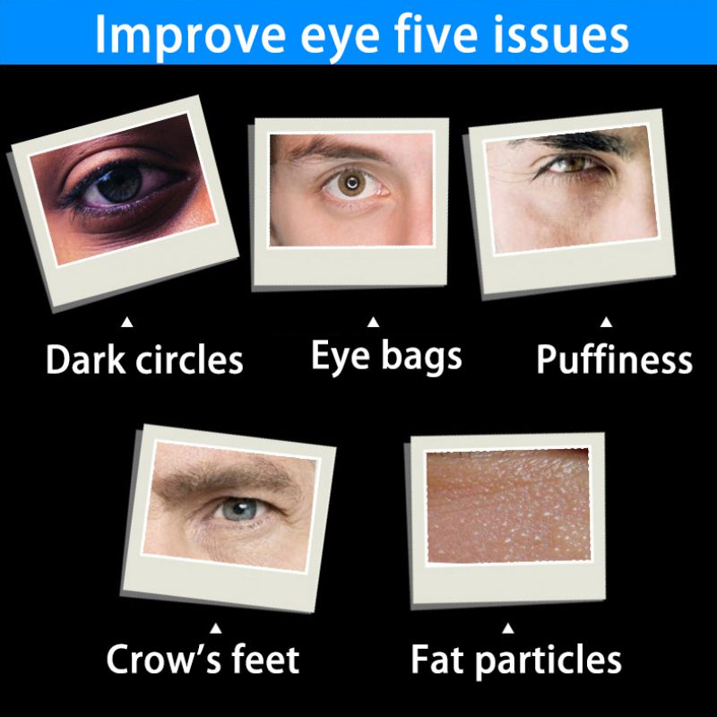Men Day And Night Anti-wrinkle Firming Eye Cream Skin Care Black Eye Puffiness Fine Lines Wrinkles Face Care Product 3