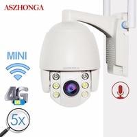 360 Mini IP Camera 3G 4G SIM Card Wireless WI FI PTZ 1080P IR Dome 5X Zoom CCTV Security Surveillance Outdoor Waterproof Camera