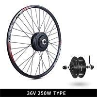 Cheap 36V 250W Bafang eBike Brushless Gear Rear Hub Motor Electric Bicycle Conversion Kit with 10Ah Wheel Drive Bike Battery Kit 0