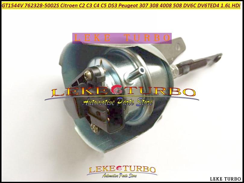 Turbo Actionneur GT1544V 762328 762328-5003 S 762328-0001 9663199080 Pour CITROEN C2 C3 C4 C5 DS3 Pour PEUGEOT 307 308 DV6C 1.6L HDI