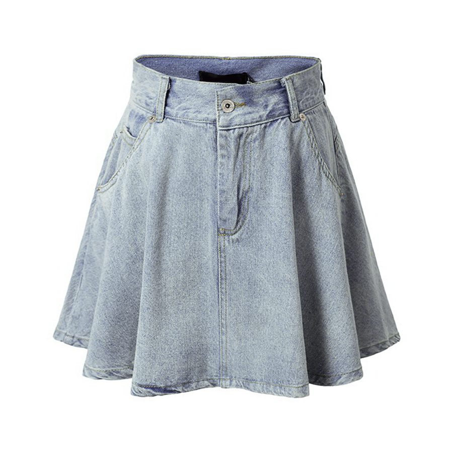 Cheap Jean Skirts Knee Length