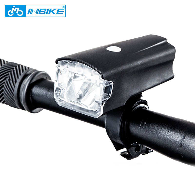 INBIKE Bicycle Light USB Rechargeable Bike Headlight Waterproof Cycling Led Light MTB Bicycle Accessories Bike Flashlight M4001 inbike 1000 lumen bicycle light usb rechargeable riding flashlight bike lamp led mountain bike equipment cycling accessories 310