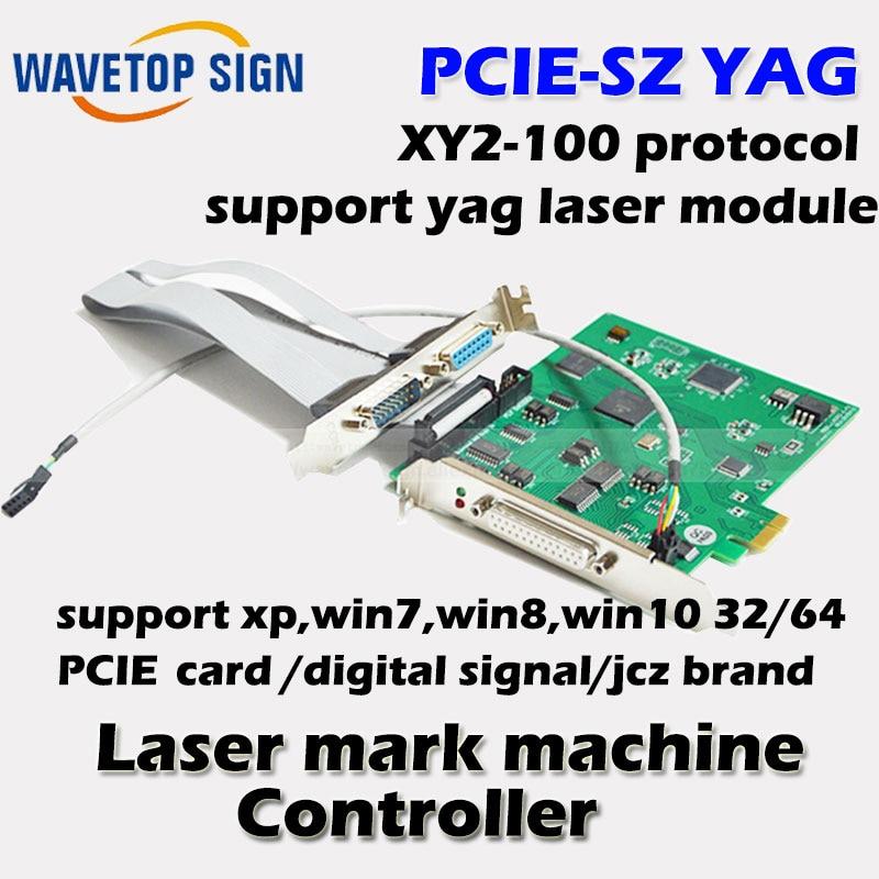 все цены на JCZ YAG laser controller JCZ PCIE-SZ pci-e port digital galvanometer support pwm laser control software version 2.12.1 онлайн