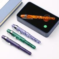 High Quality Resin body Iraurita fountain pen 0.38mm nib ink pens for writing caneta tinteiro Stationery dolma kalem gift 1069