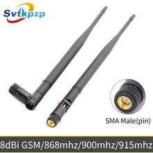 8dBi SMA мужской разъем GSM антенна большой дальности 868 МГц 900 МГц 915 МГц антенны Универсальный Vhf Whip антенна для связи
