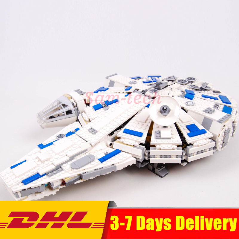 LEPIN Star Series War 05142 Building Blocks Force Awakens Millennium 75212 Toys Falcon Model Kids Toys Christmas Gifts