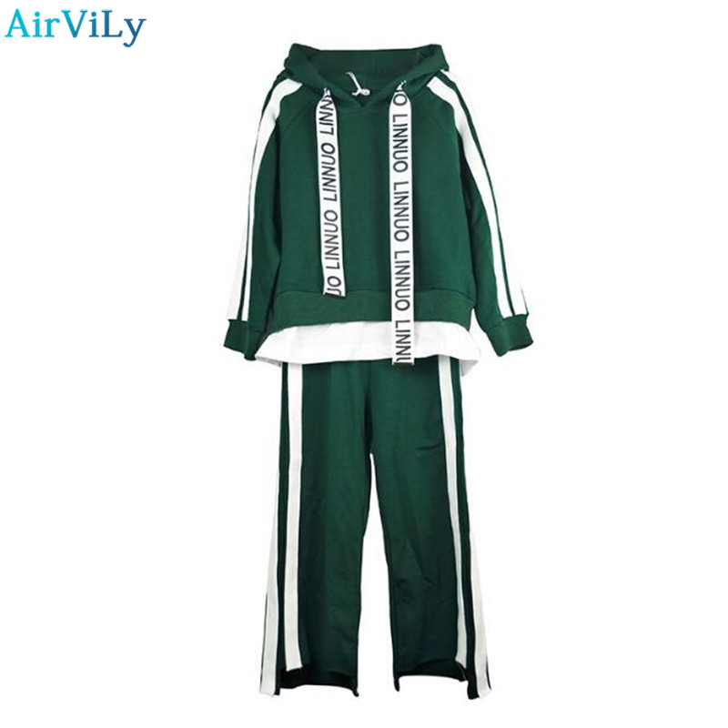 Girls Autumn Casual Tracksuit Kids Clothing Set Children Long Sleeve Hooded Sweatshirt+Pants School Girls Sports Suit casual kids clothes boys girls clothing sets sports autumn 2017 2pcs girl tracksuit hooded boy set long sleeve children suit