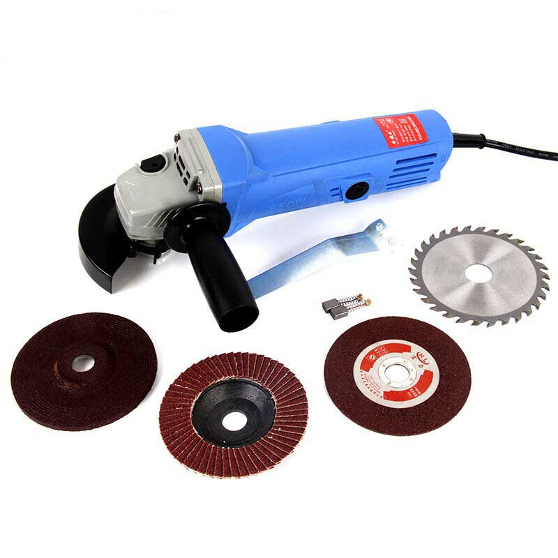 Electric Hand Grinder For Metal ~ V angle grinder electric metal cutting tool small hand